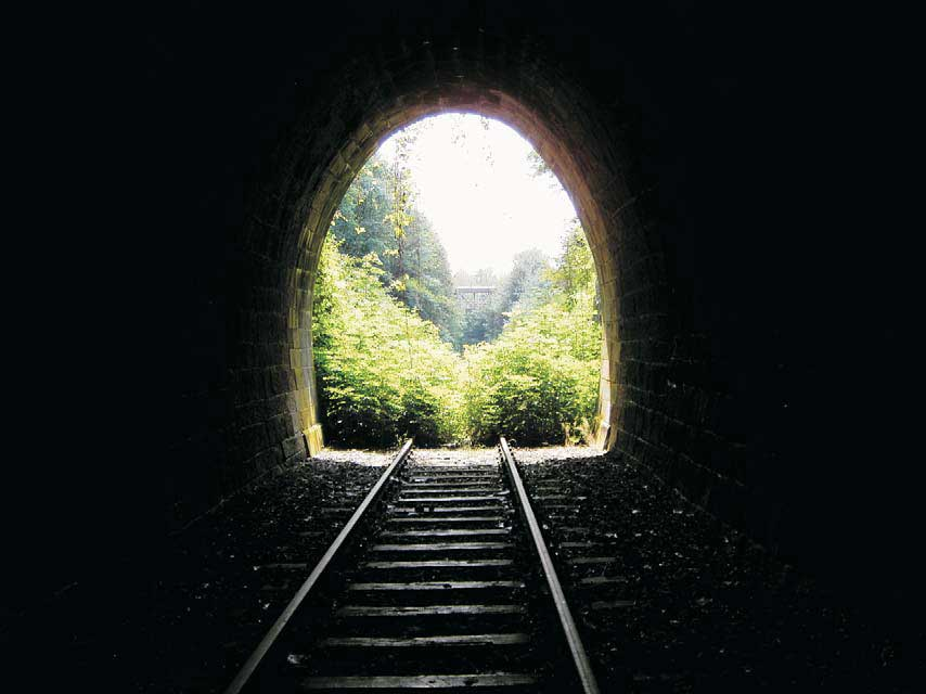 Tunnel bei Tiefenbach