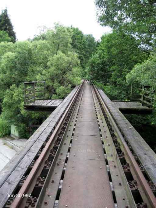 Brücke bei km31