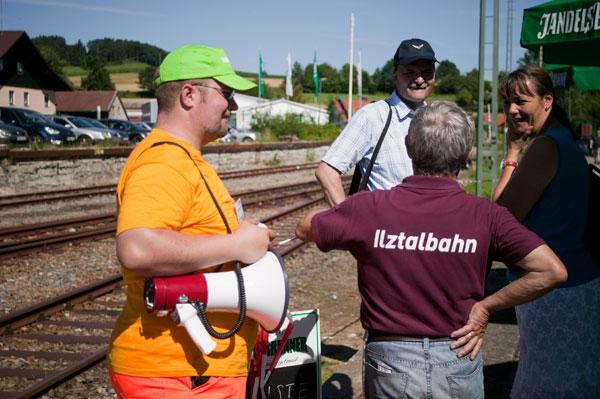 Eröffnung der Ilztalbahn 17.7.2011