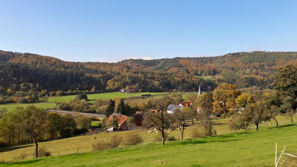 Blick über Kirchlotheim