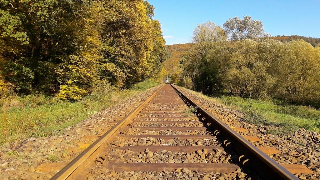 Die Strecke bei Schmidtlotheim